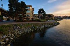 Percorso pareggiante a Vancouver Canada Fotografie Stock Libere da Diritti