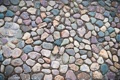 Percorso pavimentato con i cobblestones Immagine Stock Libera da Diritti