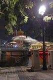 Percorso pedonale di Singapore fotografie stock