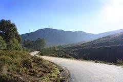 Percorso portoghese della montagna Immagini Stock Libere da Diritti