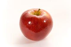 Percorso rosso lucido della mela w fotografia stock libera da diritti