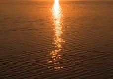 Percorso solare Fotografia Stock