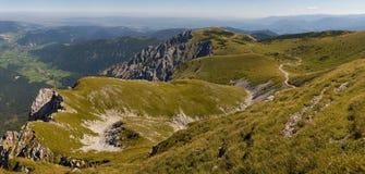 Percorso sulla collina dello schneeberg Immagini Stock