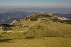 Percorso sulla collina dello schneeberg Fotografia Stock Libera da Diritti