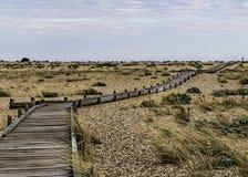 Percorso sulla spiaggia Immagini Stock Libere da Diritti