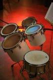Percussie toms stock foto