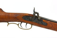 Percussion black powder rifle Stock Images