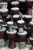 Percussion drums on beach Royalty Free Stock Photography