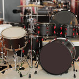 Percussion instruments. The image of different kinds of percussion instruments royalty free stock photos