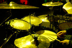 Percussion instruments Royalty Free Stock Photos