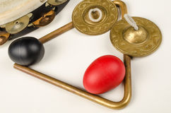 Percussion instruments Stock Images