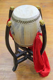Percussion instruments - china big drum Royalty Free Stock Photo