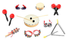 Percussion instruments. Stock Image