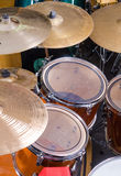 Percussion kit Royalty Free Stock Image