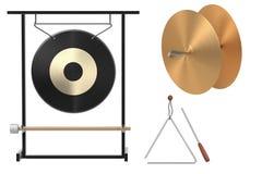 Percussion set Stock Photos