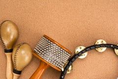 Percussion set Stock Image