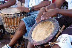 Percussione africana Fotografia Stock Libera da Diritti