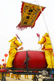 Percussione festiva cinese Immagine Stock Libera da Diritti