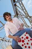 Percussionist del flamenco Imágenes de archivo libres de regalías