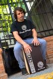 Percussionist del flamenco Imagen de archivo libre de regalías