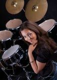 percussionist02 Royaltyfri Fotografi
