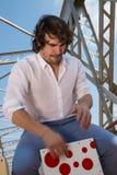 Percussionista do flamenco Fotos de Stock Royalty Free