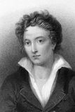 Percy Bysshe Shelley Stock Photo