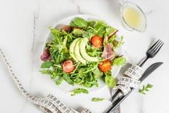 Perda de peso e conceito da dieta fotografia de stock