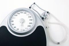 Perda de peso para a saúde Imagens de Stock Royalty Free