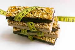 Perda de peso saudável Fotos de Stock