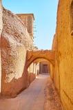 Perda in vecchio Yazd, Iran fotografia stock libera da diritti