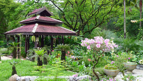 Perdana湖庭院 图库摄影
