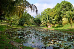 Perdana Lake Gardens Royalty Free Stock Photos