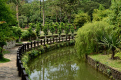 Perdana Lake Gardens Royalty Free Stock Photo