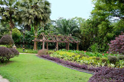 Perdana Lake Gardens Stock Images