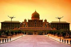 Perdana Putra Building. Or known as Prime Ministers Office at Putra Jaya, Wilayah Persekutuan, Malaysia Royalty Free Stock Photography
