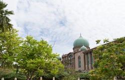 Perdana Putra på Putrajaya Malaysia Royaltyfri Bild