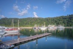 Perdana Quay, Telaga Harbour, Langkawi, Malaysia Royalty Free Stock Images