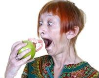 Perdendo seus dentes falsos fotos de stock royalty free