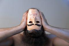 Perdendo sua mente Foto de Stock