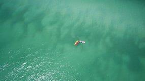 Perdido en el mar Foto de archivo