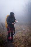 Perdido en las montañas Imagen de archivo libre de regalías