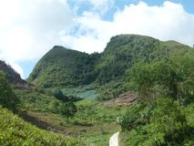 Perdido na beleza da natureza Filipinas foto de stock