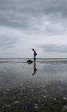 Perdido no mar Imagens de Stock