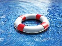 Perdido no mar Imagem de Stock
