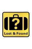 Perdido y encontrado fotografía de archivo libre de regalías