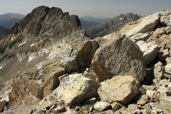 Perdigueret peak in Posets-Maladeta Stock Images