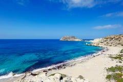 Perdikas Potami in Karpathos, Greece royalty free stock images