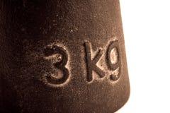 Perdita dei tre chili importanti Immagini Stock Libere da Diritti