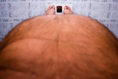 Perdita di peso Fotografia Stock Libera da Diritti
